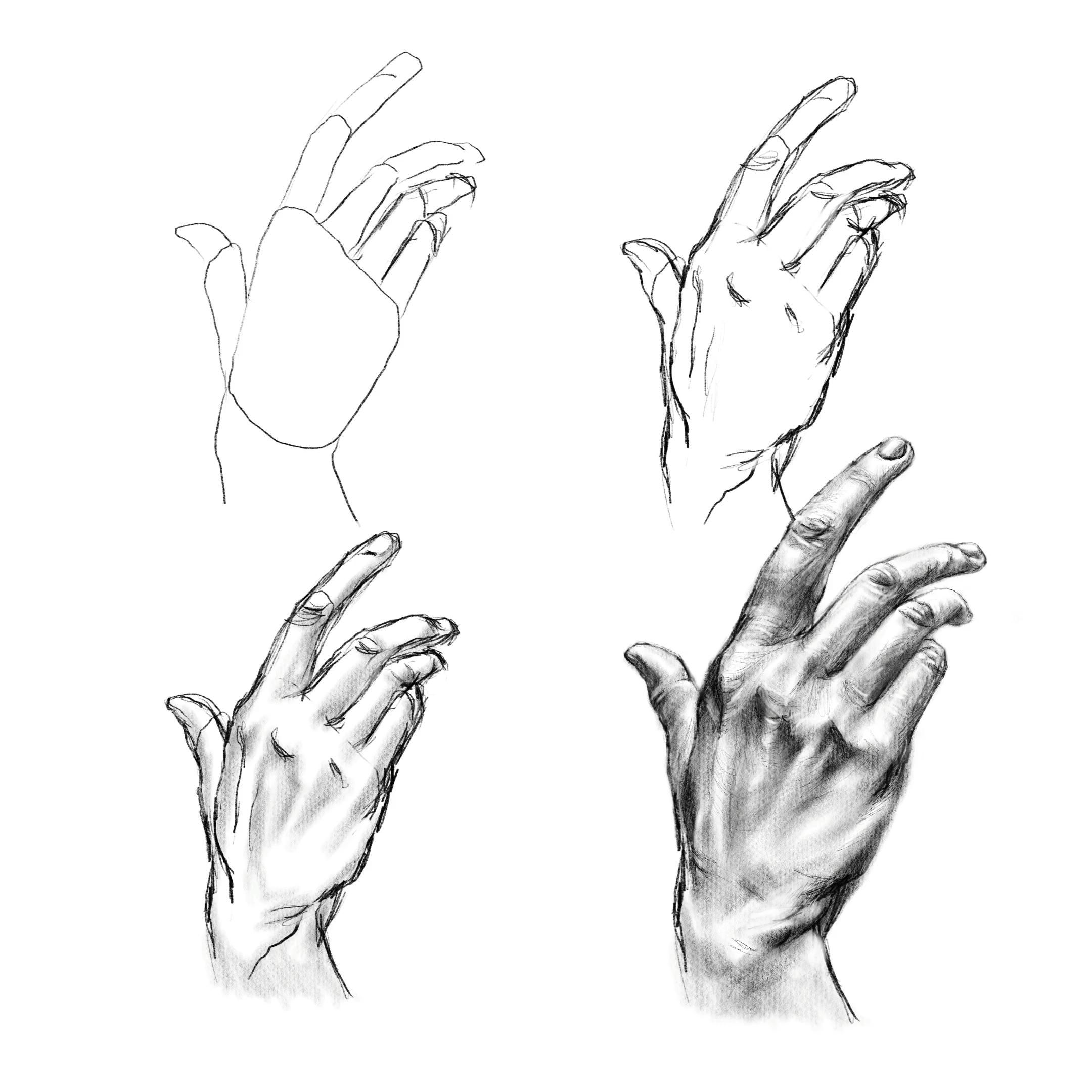 How to draw a hand, cremission art studio, drawing tutorial, art education, illustration, sketch