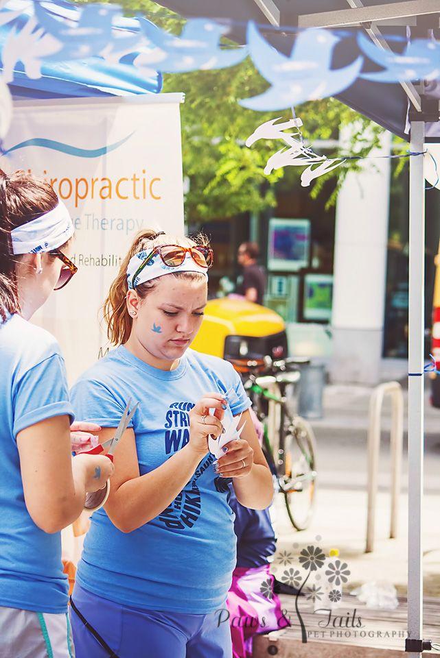 Volunteers pinning up our bluebirds of #inspiration telling everyone #whomovesus #wearebrave #wearestrong #wehavefaith #wearepositive #webelieve #wewillfight #wehavehope #wehaveadream #rheumaticdiseaseawareness #goteamstrutyourmutt #walktofightarthritis http://teamstrutyourmutt.wix.com/welcome