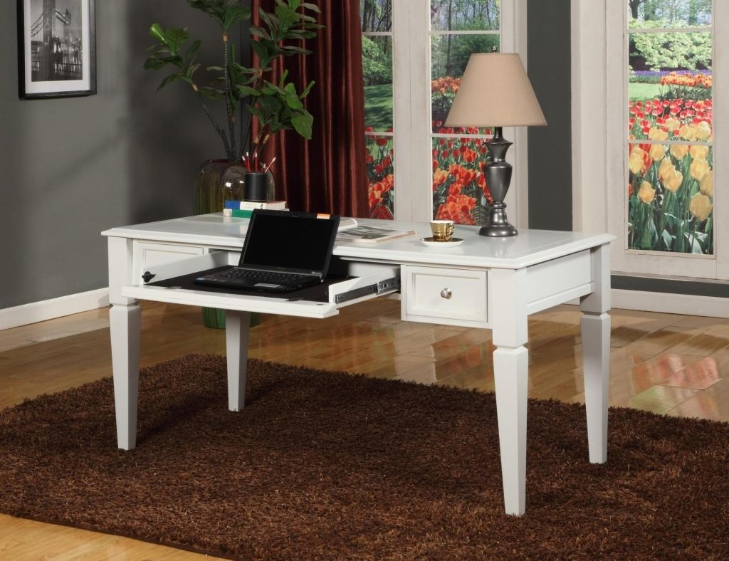 Parker House Boca Writing Desk   Cottage White   A Welcome Way To Complete  Your Tasks In Style. The Parker House Boca Writing Desk   Cottage White Has  A ...