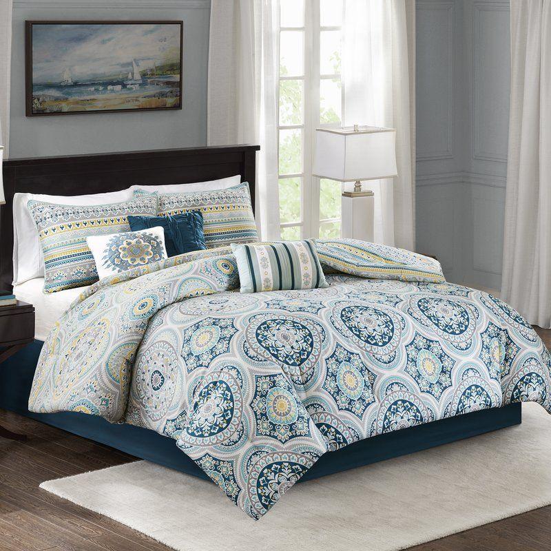 Thatcher Reversible Comforter Set Beautiful bedding sets