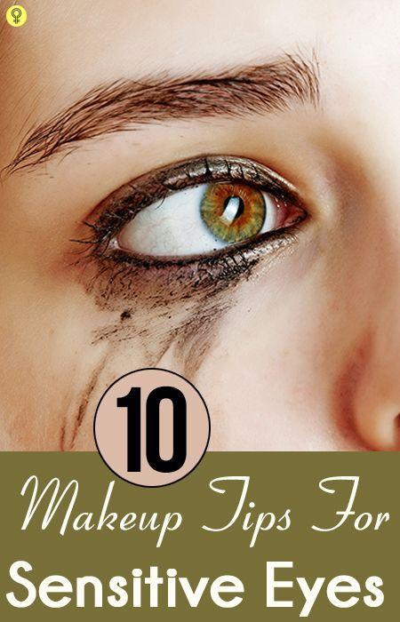 Top 10 Simple Eye Makeup Tips For Sensitive Eyes
