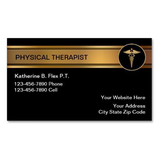 Physical Therapist Business Cards Zazzle Com In 2021 Psychologist Business Card Psychologist Business Psychology Business Card