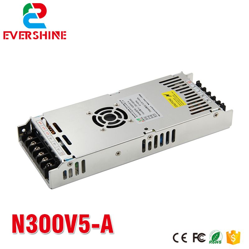 G-energy N300V5-A 5V 60A 300W Slim LED Display Power Supply