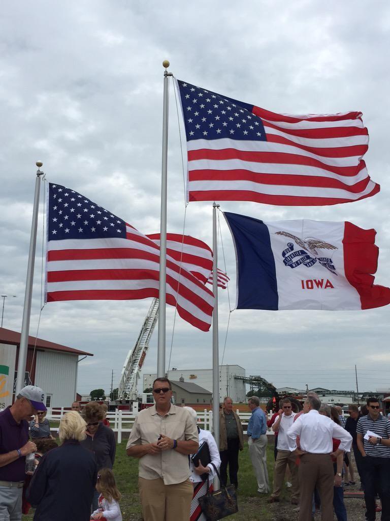 Shane Vander Hart On Twitter Iowa Expo Country Flags