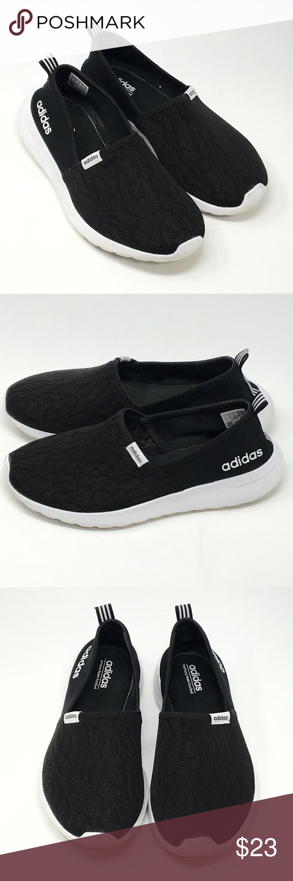 0388581da6d8 ADIDAS Slip On CloudFoam Lite Racer Shoes Used But in Excellent Condition. Actually  these are