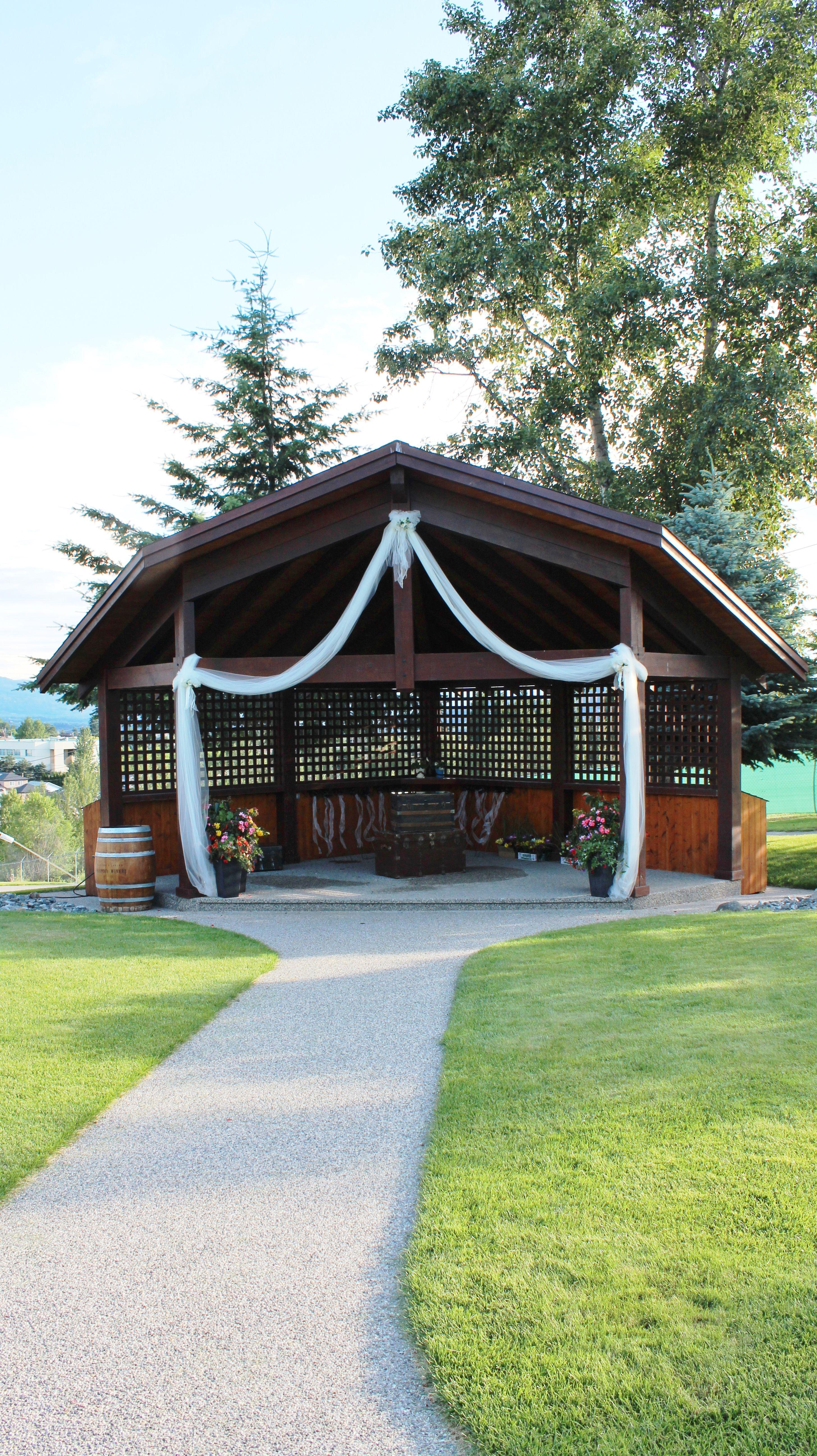 Wedding decorations barn  Outdoor wedding ceremony site  Weddings at Sunset  Pinterest
