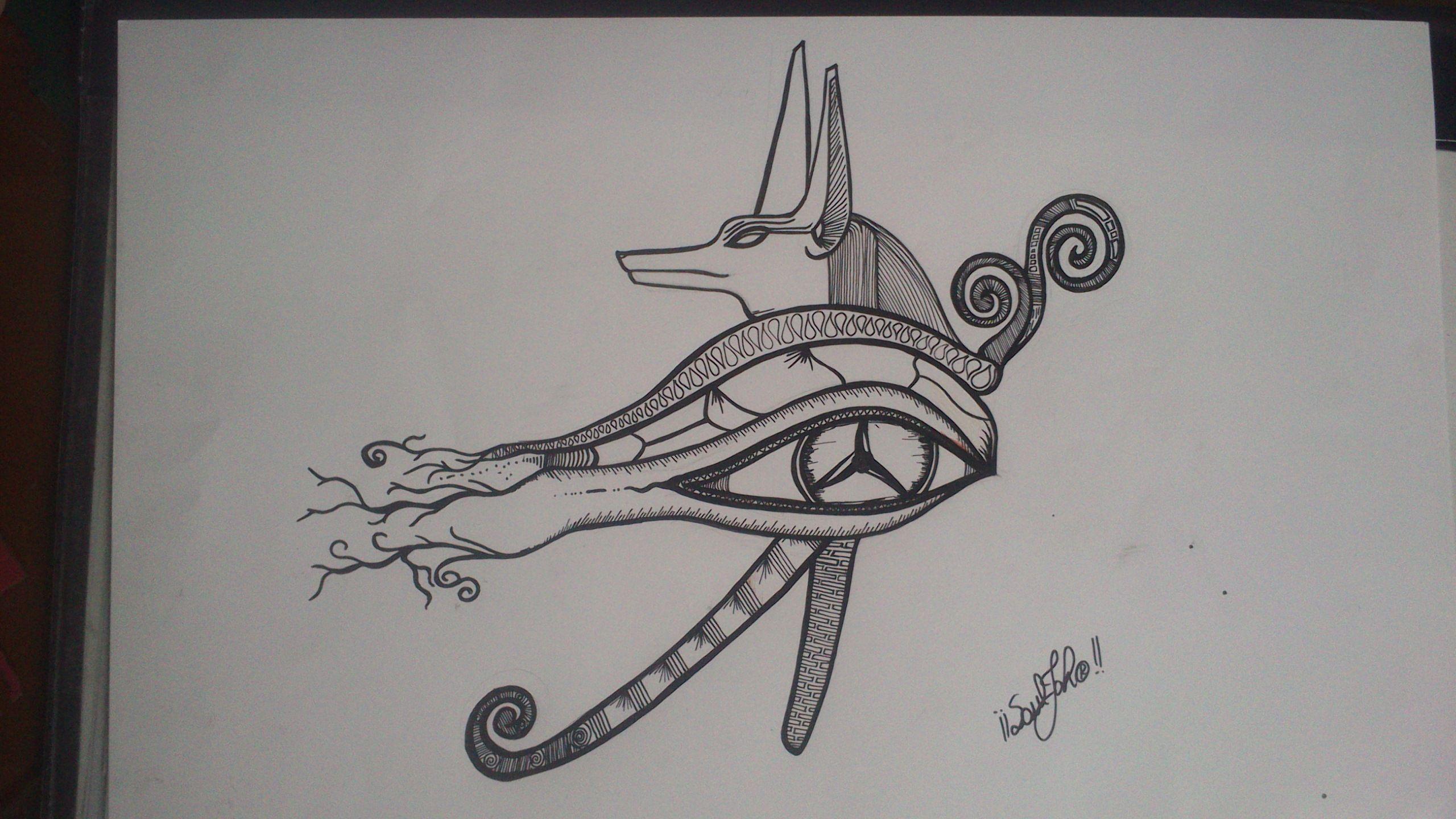 Ojo De Anubis Diseños Koi