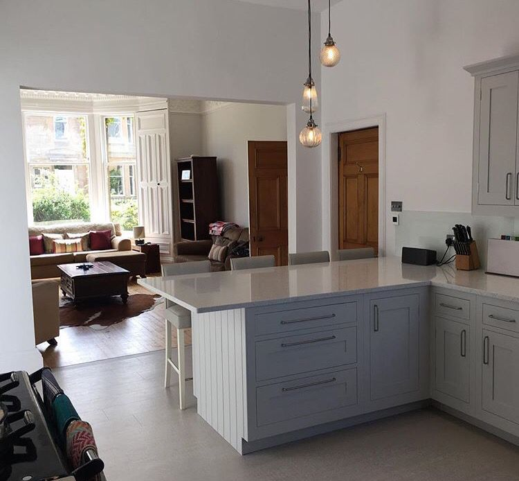 Best Harvey Jones Shaker Kitchen Farrow And Ball Dimpse And 400 x 300