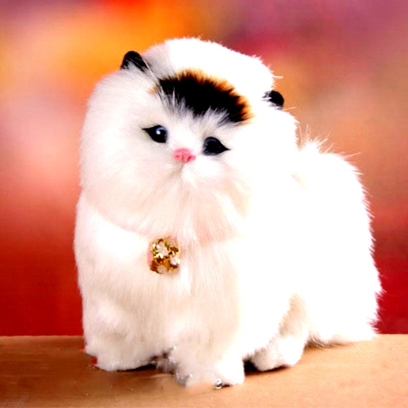 Schone Elektronische Katzen Niedlichen Tier Spielzeug Katze Wird Mauzi Haustier Spielzeug Angefullte Modell Puppe Besten Weihnachtsgeschen Animals Cats Birds