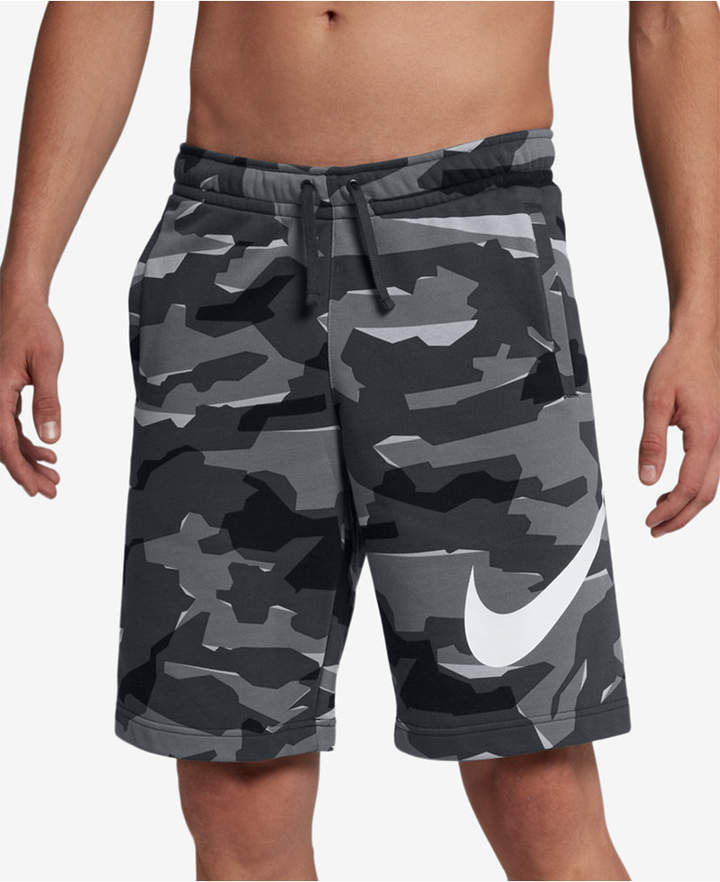 b9a048e9 Men's Sportswear French Terry Camo-Print Shorts in 2019 | Products ...