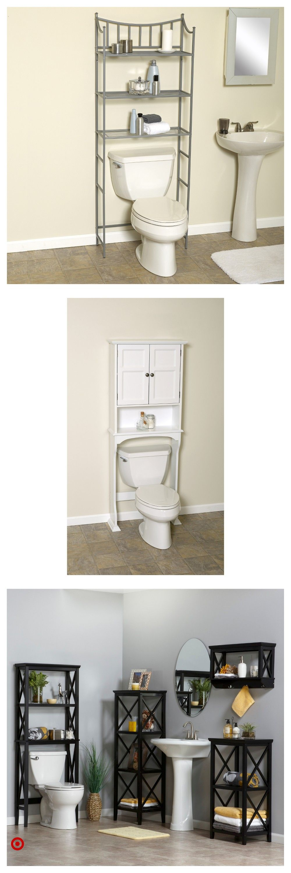 Shop Target for over & the & toilet & etagere you will ...