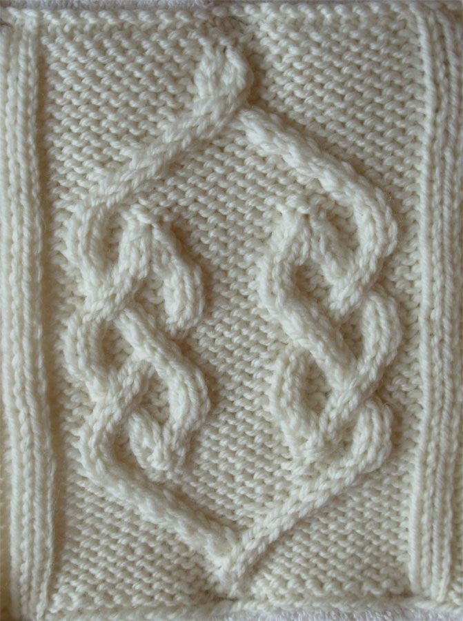 Ivanova and Carter Knit: The Celtic Knot Project installment #2 ...