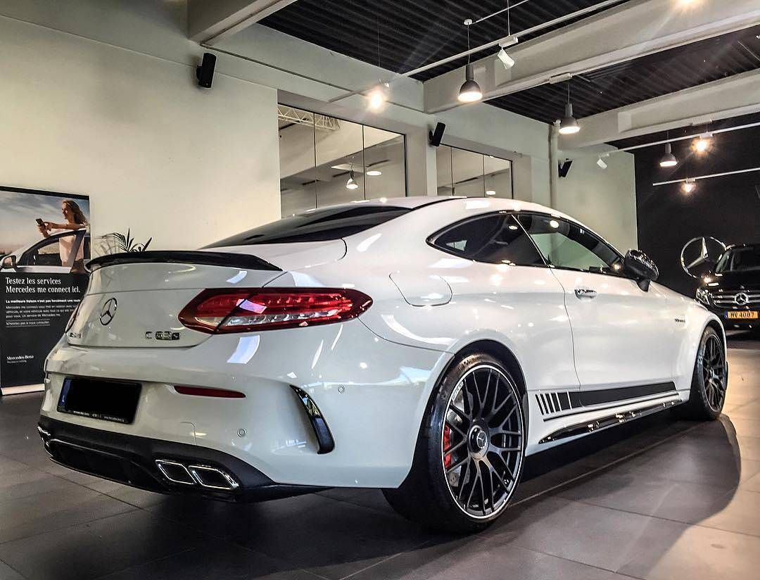 C63s Coupe Benz Pinterest
