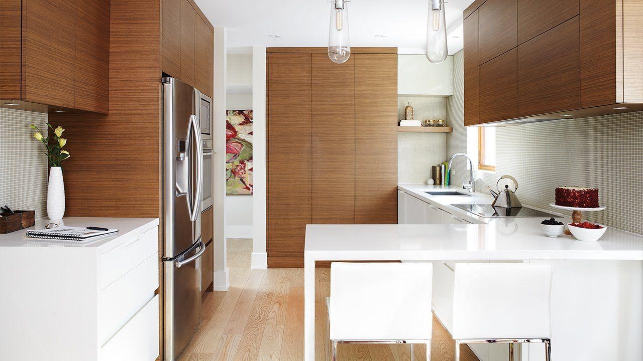 Weiß gelbe küchenideen moderne küche interior design fotos  modernekücheinterieurdesign