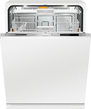 G 6987 Scvi K2o Am Fully Integrated Full Size Dishwasher With Hidden Control Panel 3d Cutle Fully Integrated Dishwasher Integrated Dishwasher Cutlery Tray