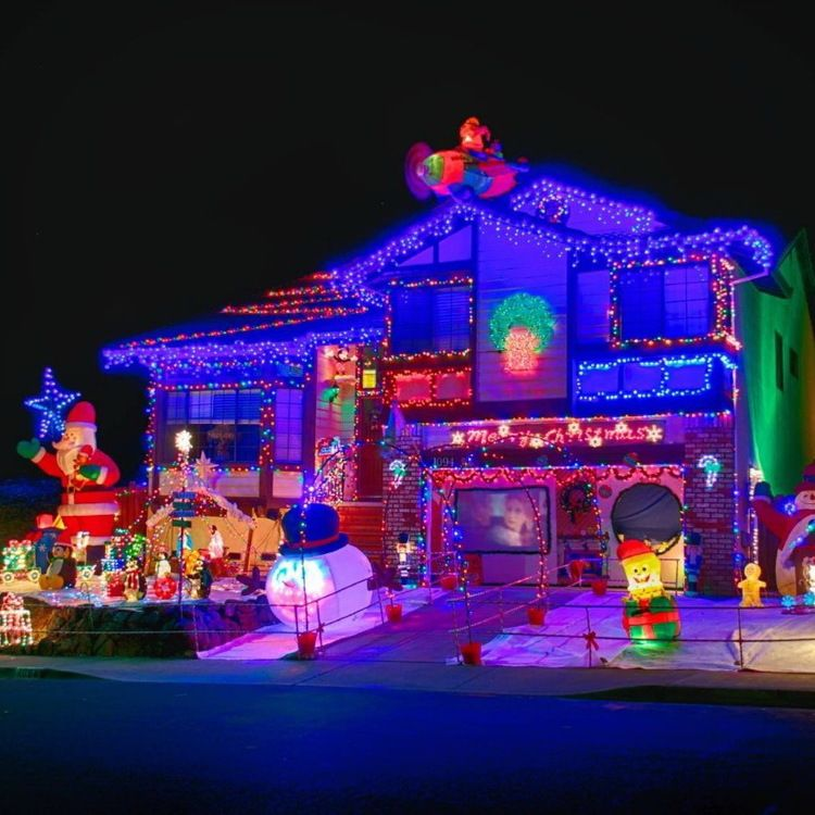 50 spectacular home christmas lights displays christmas lights and 50 spectacular home christmas lights displays aloadofball Image collections