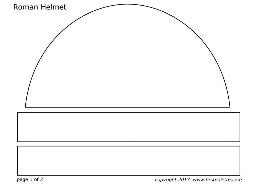 Printable Roman Helmets | Pinterest