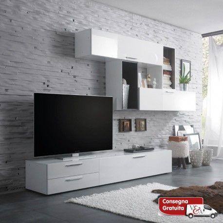 Pin by Аlаyаh Mayrа on Hoiya | Pinterest | Tv walls, Living rooms ...