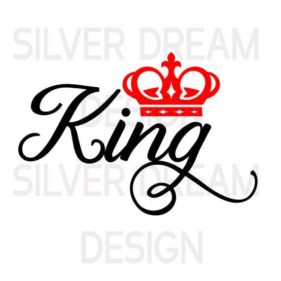 King And Queen Svg King Queen Shirts Svg Files Couples King Queen Tattoo Queen Tattoo King And Queen Crowns