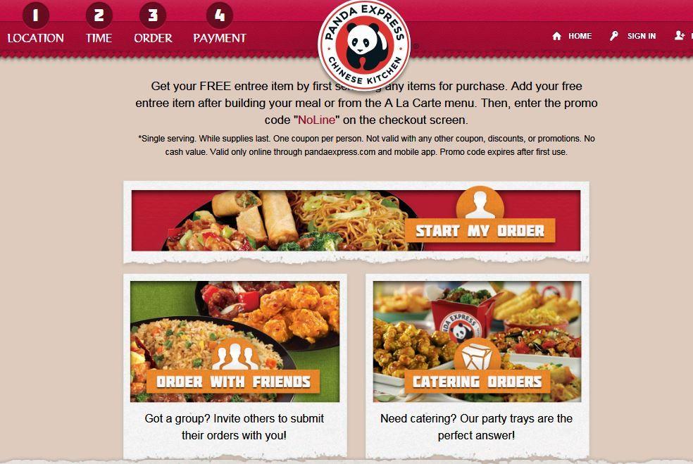 Free Single Serve Entree At Panda Express Entrees Single Serve Meals