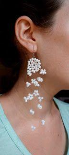 Miel Accesorios BA Floating Earrings (with a cloud?) @MielAccesoriosBA