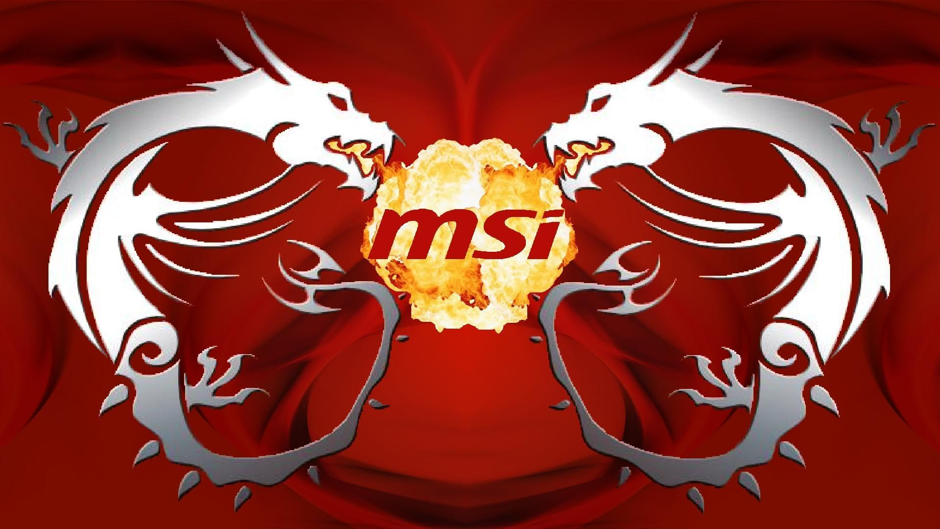 Msi Red Dragon Wallpaper