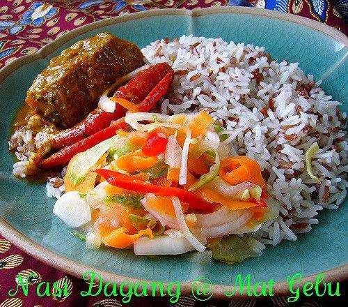 Nasi Dagang 2 Resep Masakan Malaysia Resep Masakan Asia Resep Masakan