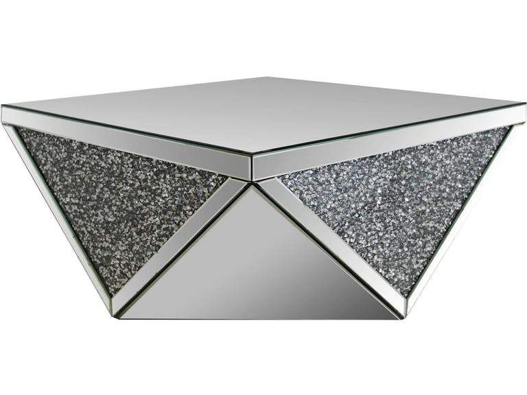 Acme Noralie Coffee Table Mirrored Coffee Tables Coffee Table