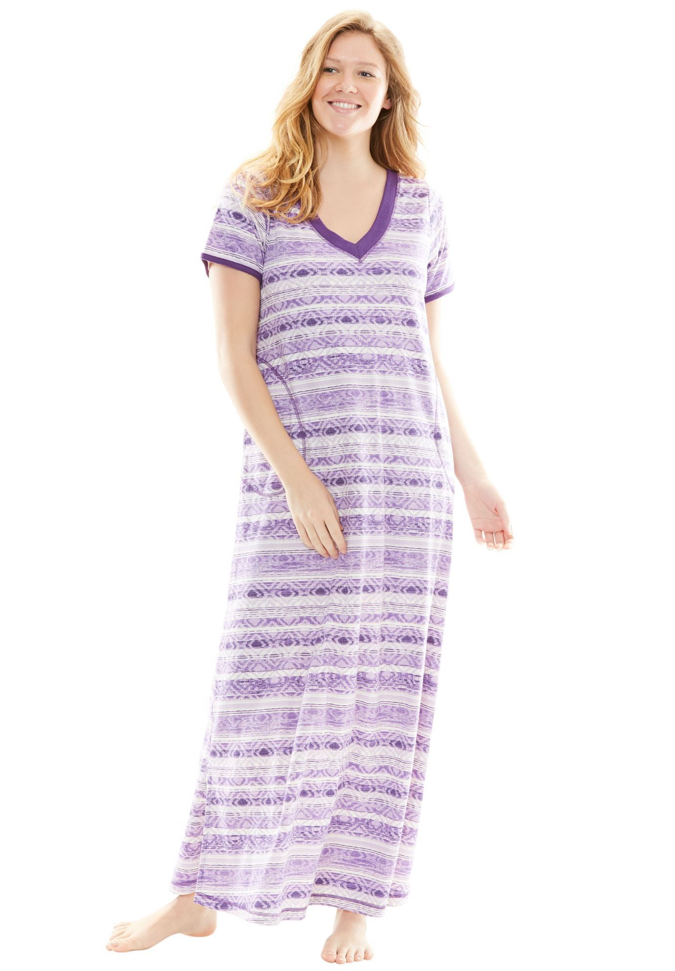 petite maxi lounger by dreams & co. - women's plus size clothing