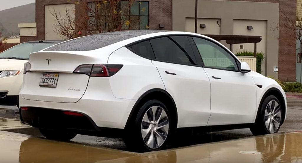 Tesla Model Y Performance Looks Just Like A Bloated Model 3 Tesla Model Tesla Dream Cars