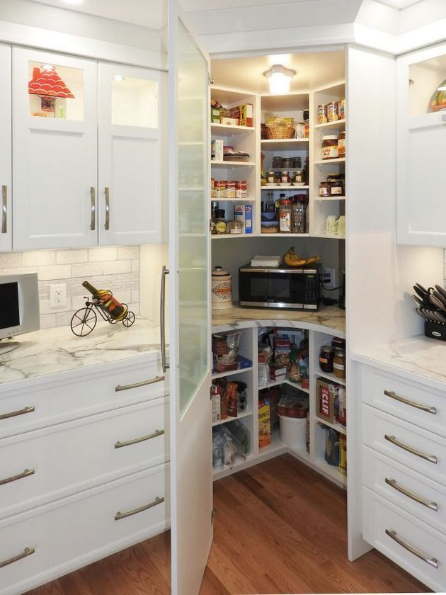 26 Facts Fiction And Corner Pantry Ideas Small Kitchen