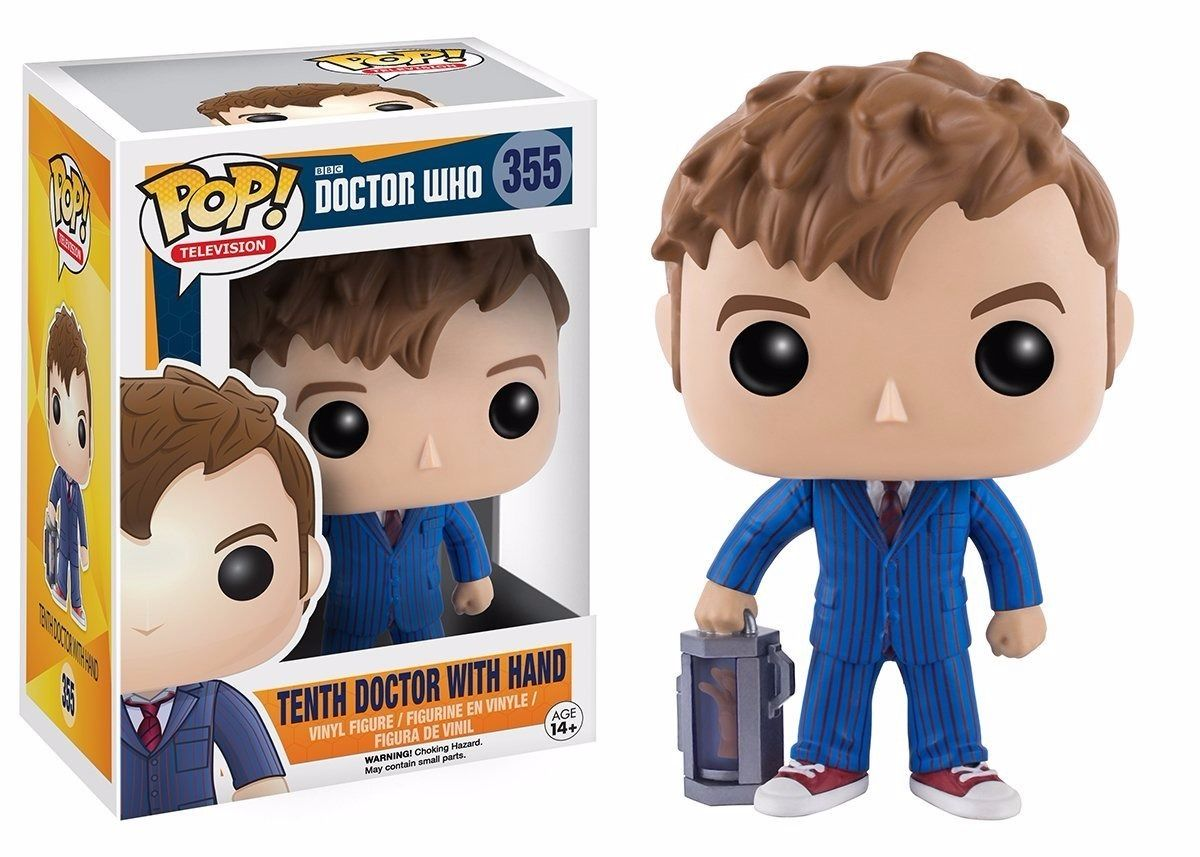 10 95 Funko Pop Tv 10th Doctor With Hand Vinyl Action Figure Ebay Collectibles Doctor Who Merchandise Pop Vinyl Figures Vinyl Figures