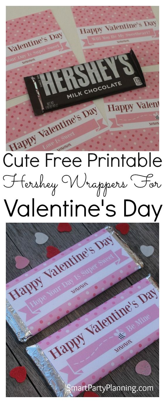 Hershey Bar Wrappers For Valentine\u0027s Day Pinterest Free - hershey wrappers