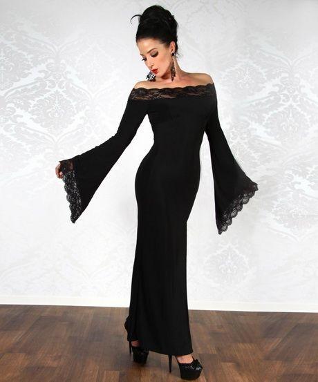 Avond jurk lange mouwen