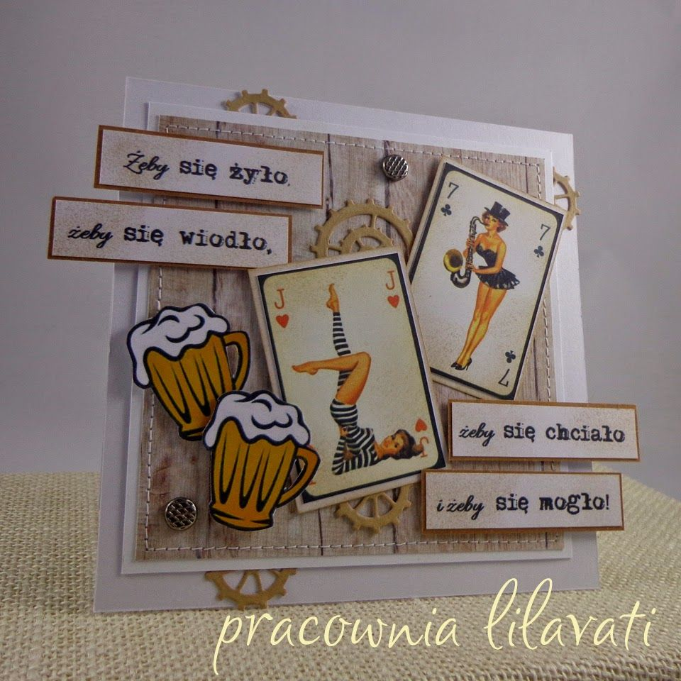 Pracownia Lilavati Cards Girl And Woman Kartki Kartki