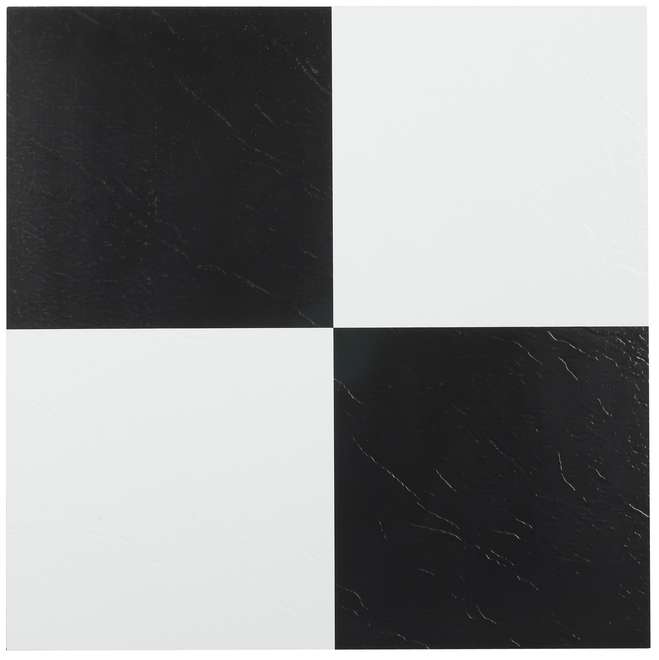 Achim Tivoli Black White 12 Inch X 12 Inch Self Adhesive Vinyl Floor Tile 103 45 Tiles Vinyl Flooring Vinyl Tile Self Adhesive Floor Tiles