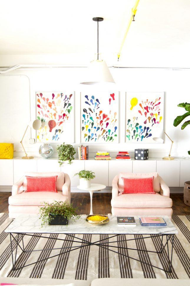 home office decorating ideas nyc. 13 Kate Spade New York-Inspired Office Decor Ideas For The HBIC Via Brit + Home Decorating Nyc E