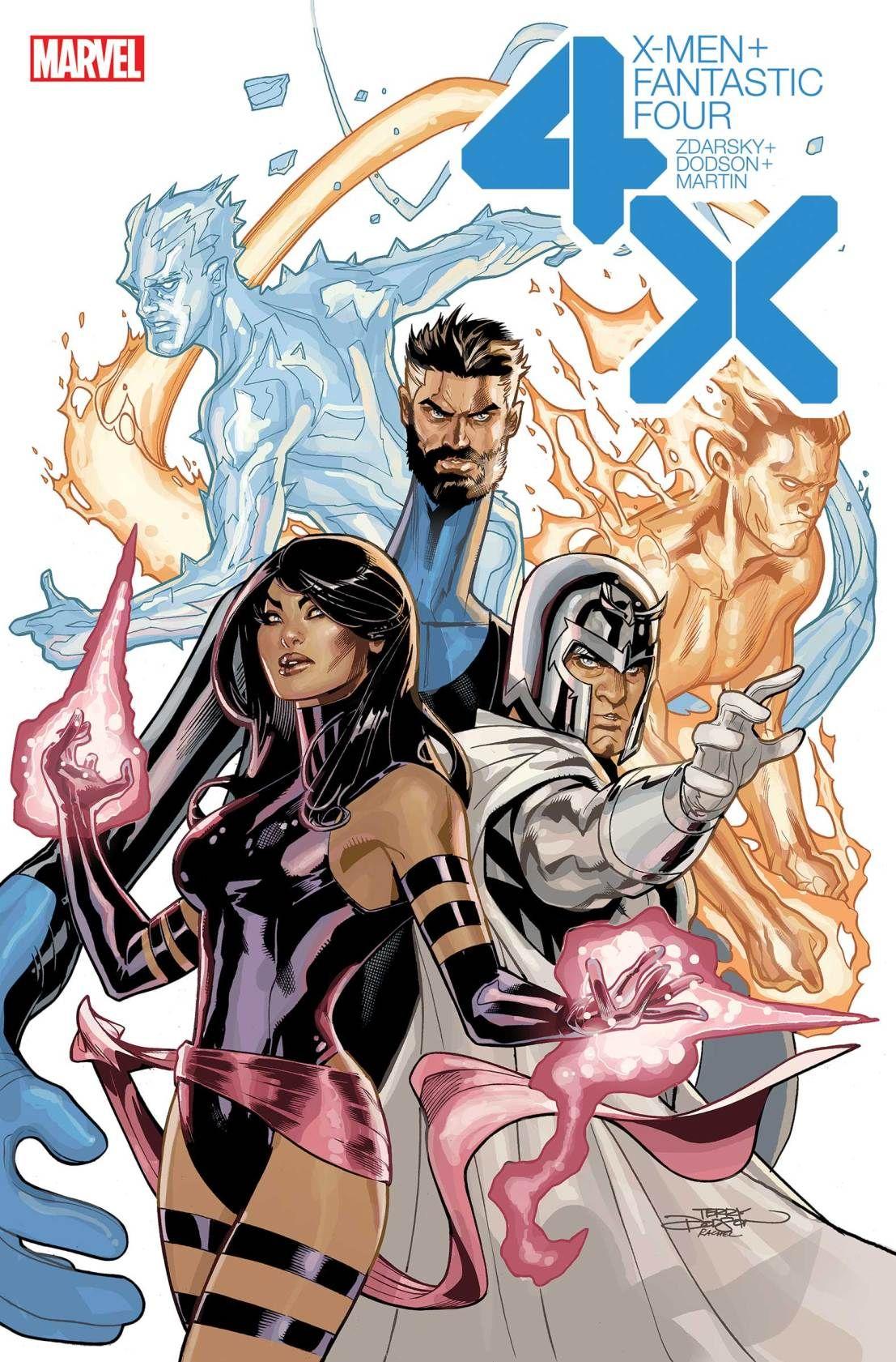 Fantastic Four Versus The X Men 1 Fantastic Four Comics Comics Marvel Comics Covers