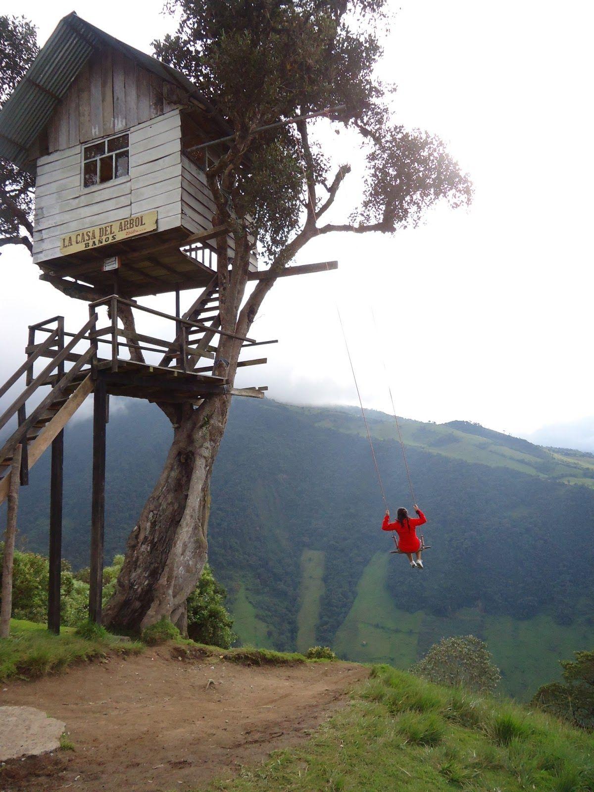 La Casa Del Arbol Baos Tungurahua Ecuador