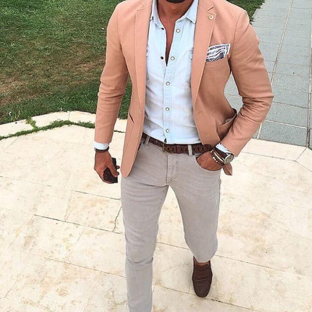 DressWellBro | Mens fashion blazer, Mens fashion edgy