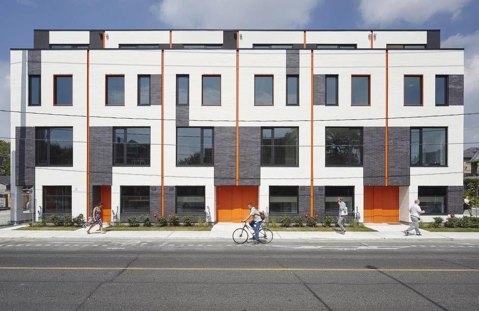 architecture - Modern Townhouse Architecture