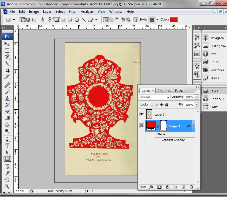 #9 Removing a color in photoshop - Tutorial