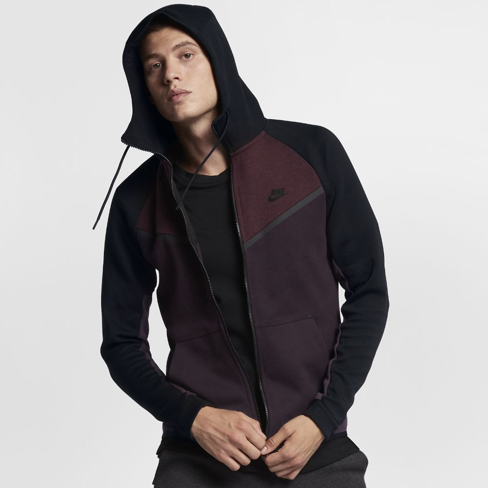 d27a350c813d Nike Sportswear Tech Fleece Windrunner Men s Full-Zip Hoodie Size XS  (Purple)