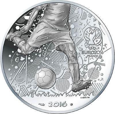 "France 10 euro 2016 /""UEFA 2016/"" Silver UNC"