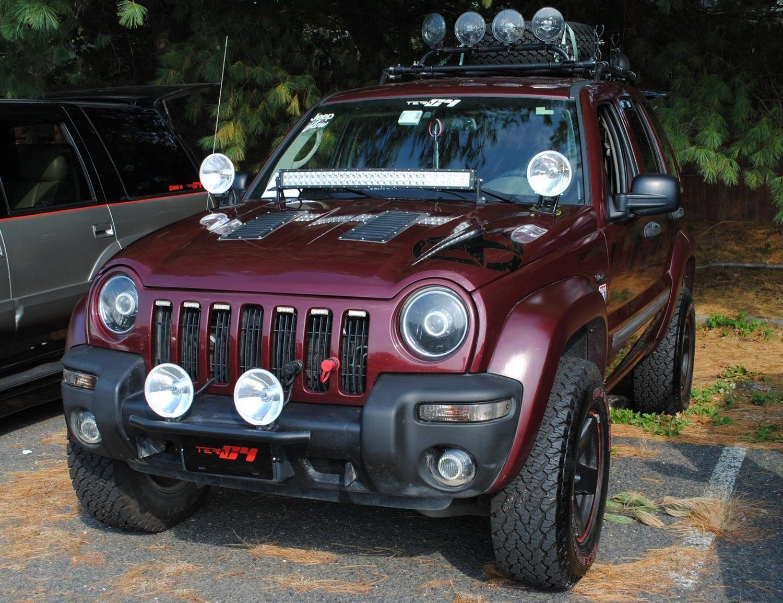 Jeep Liberty Custom Parts C4 Lifestyle Jeep Liberty Jeep