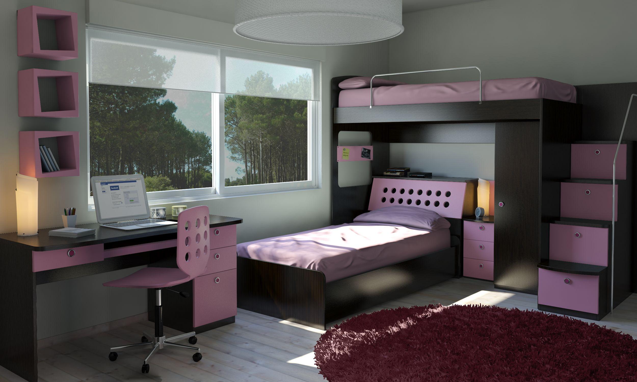 Muebles juveniles muebles infantiles muebles funcionales - Muebles para chicos ...
