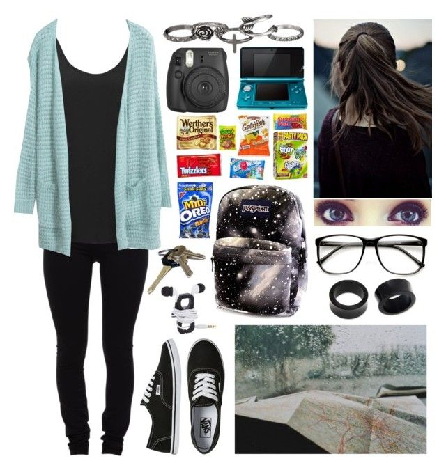"""""""Long Car Ride"""" by x-sweetea-x ❤ liked on Polyvore featuring Vans, Helmut Lang, Topshop, NOVICA, Avon and maurices"""