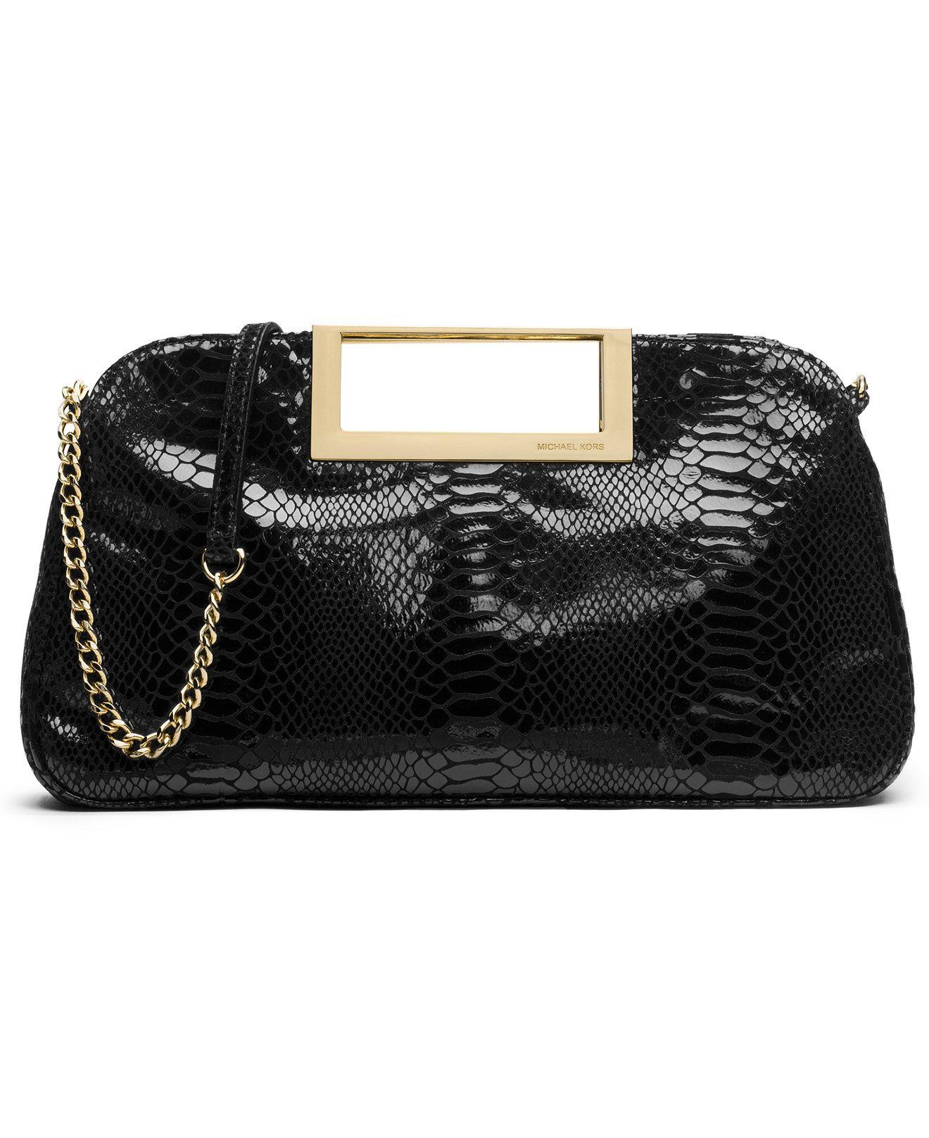a925cfbbffd1 MICHAEL Michael Kors Berkley Large Clutch - Handbags   Accessories - Macy s