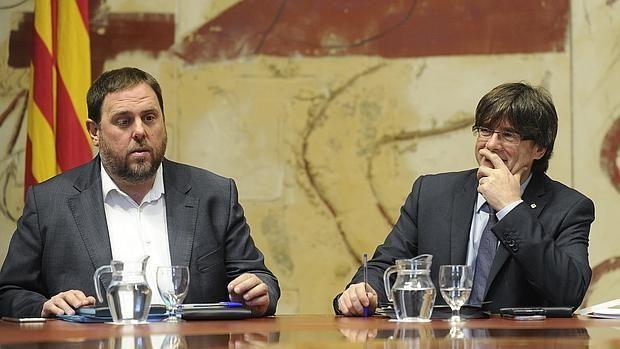 Junqueras asegura que el Gobierno catalán cumplirá el mandato democrático al margen del TC
