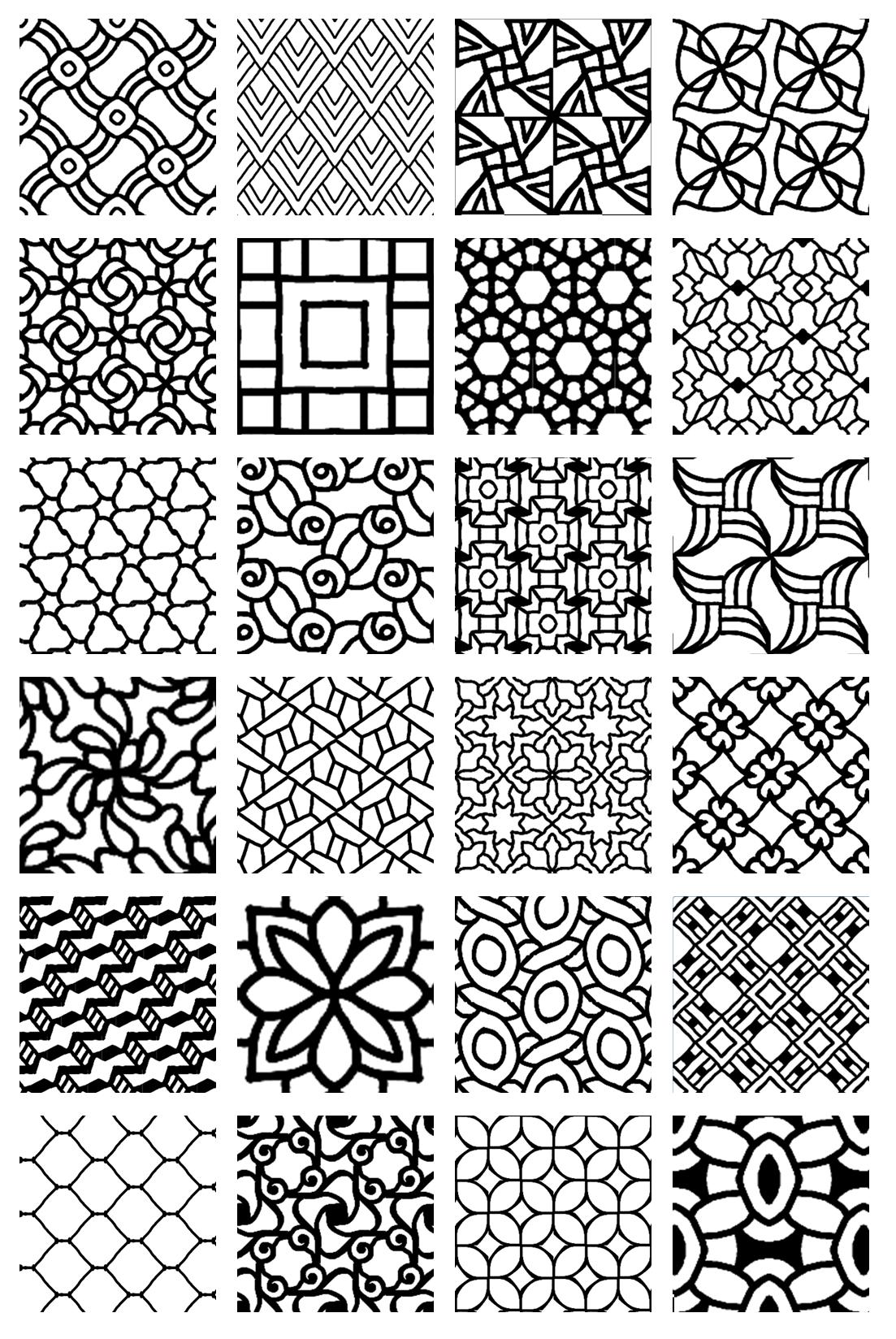 Muster Zeichnen Meditativ Oder Einfach Nur 0